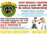 Boxing Team zaprasza